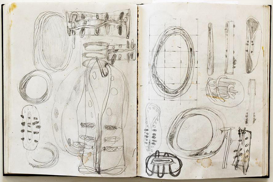 drawings for Untitled 172